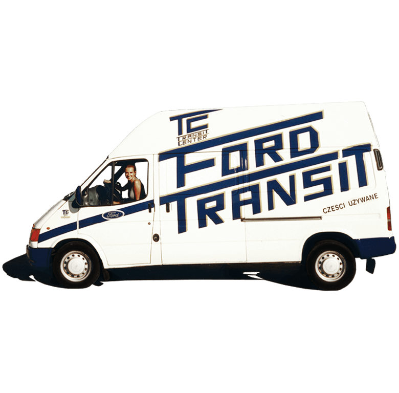 Ford Transit MK5 Transit Center Historia